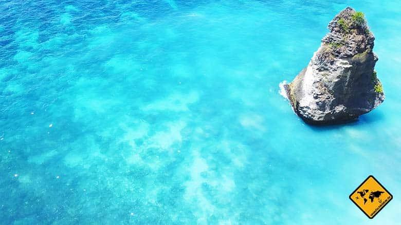 Suwehan Beach Nusa Penida Wasser