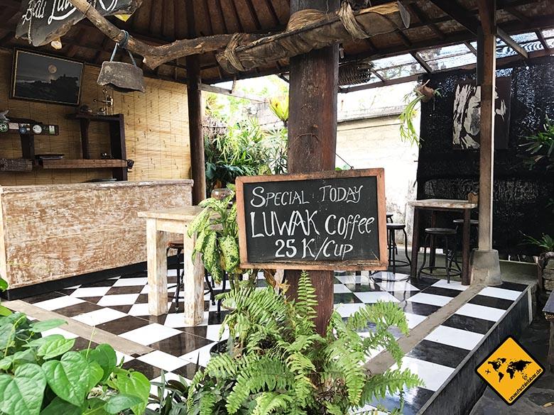 Tanah Lot Luwak Kaffee