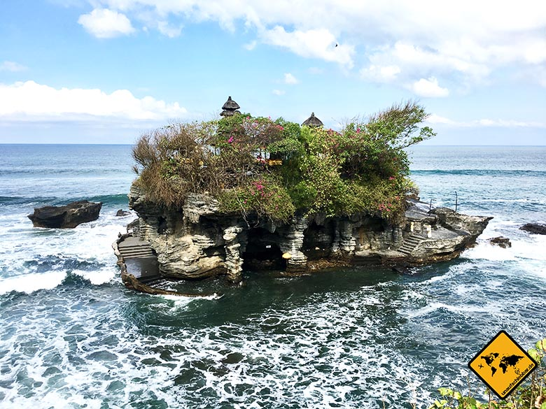Tanah Lot ohne Touristen