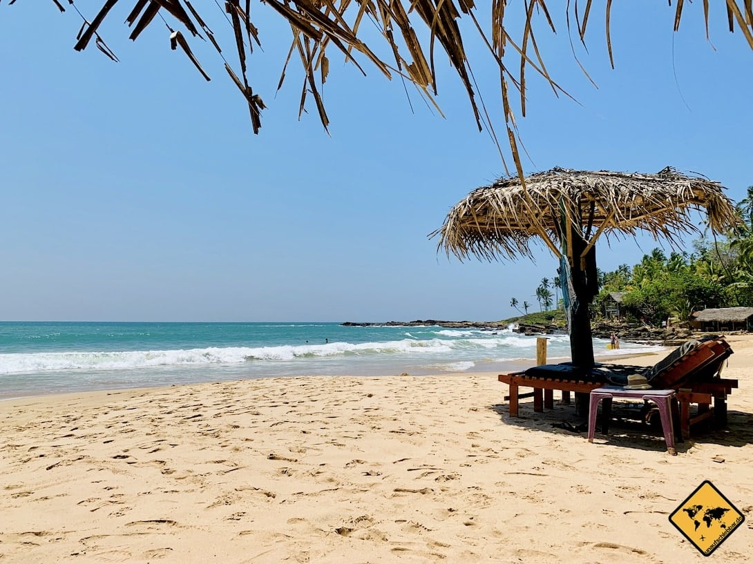 Tangalle Strand Meer