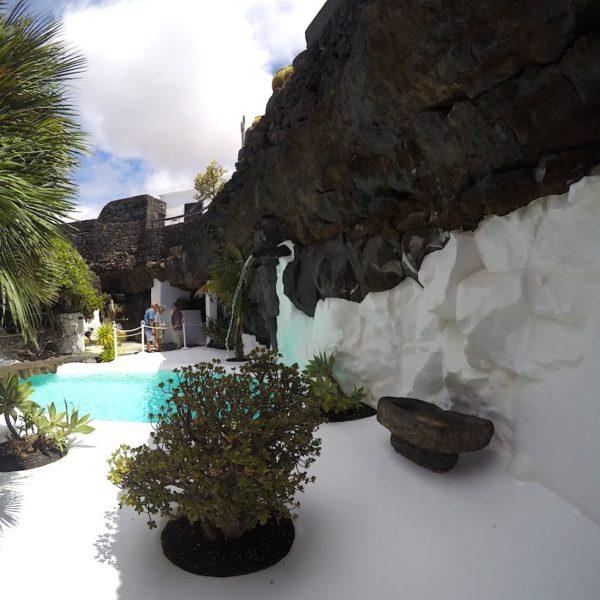 Taro de Tahíche Pool Garten