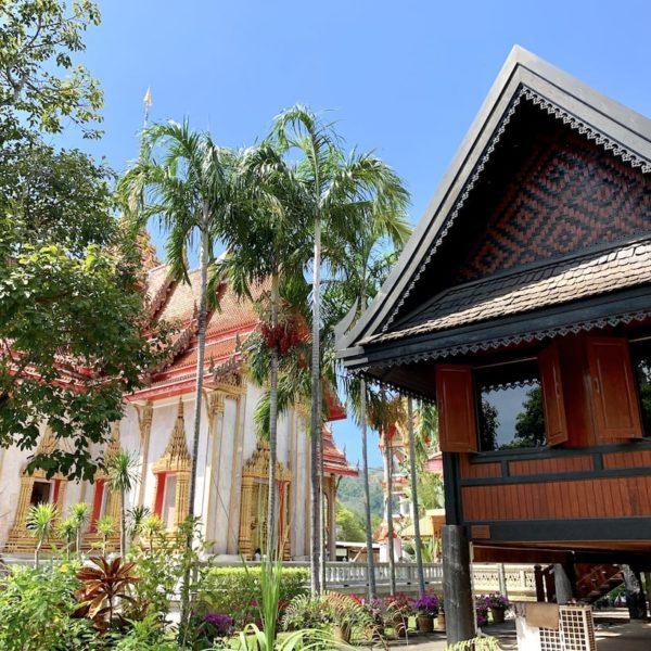Teakhaus Wat Chalong