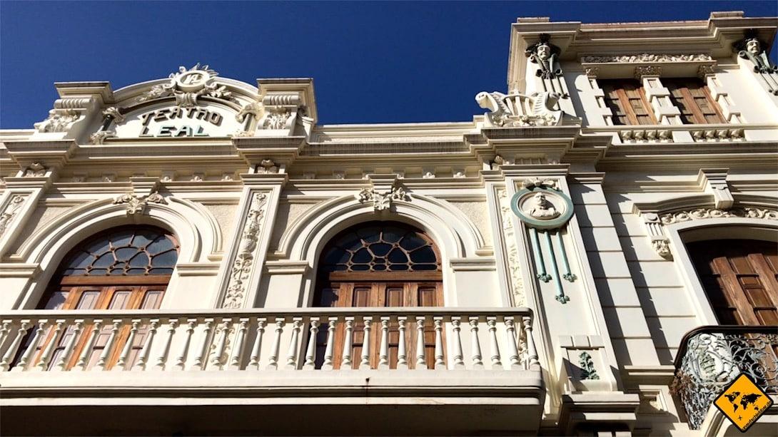 Das Teatro Leal ist aus unserer Sicht das schönste Gebäude in San Cristóbal de la Laguna Teneriffa
