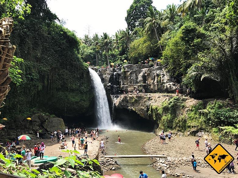 Tegenungan Waterfall Ubud Mittagszeit