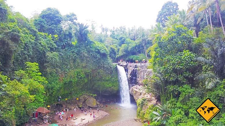 Tegenungan Waterfall Vogelperspektive