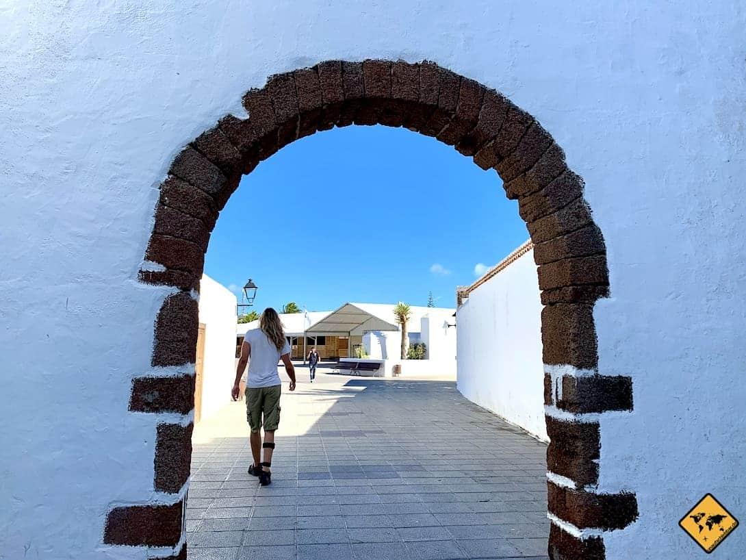 Teguise Lanzarote Fortbewegung zu Fuß
