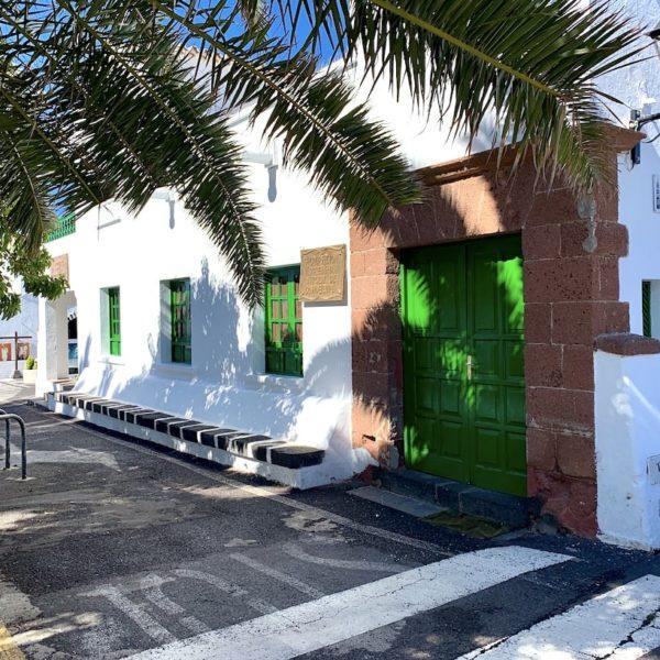 Teguise weiß grüne Häuser