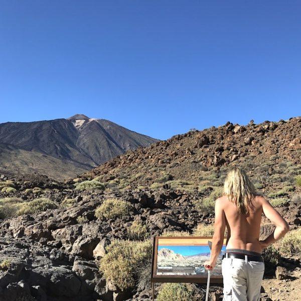 Teide Nationalpark Lavaschichten