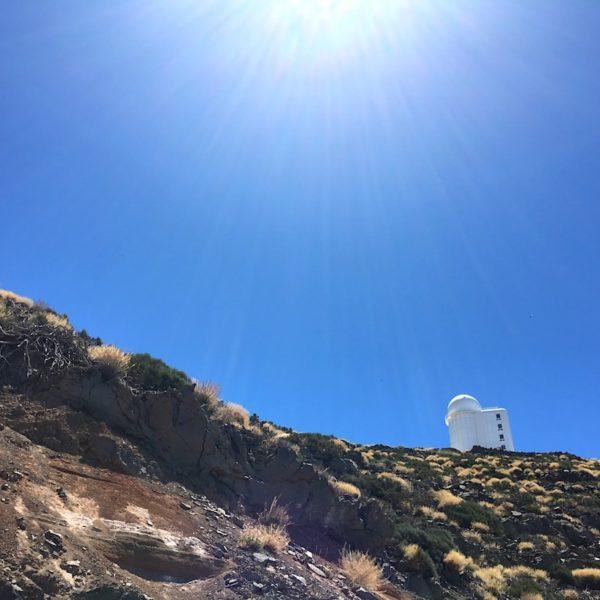 Teide Nationalpark Sonnenwarte