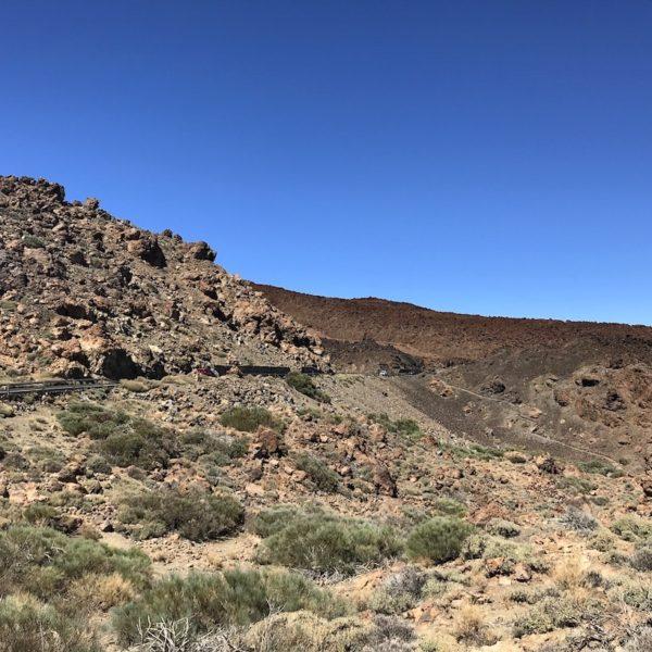 Teide Nationalpark Tabonal Negro