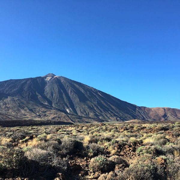 Teide Nationalpark Wanderroute Roques de Garcia