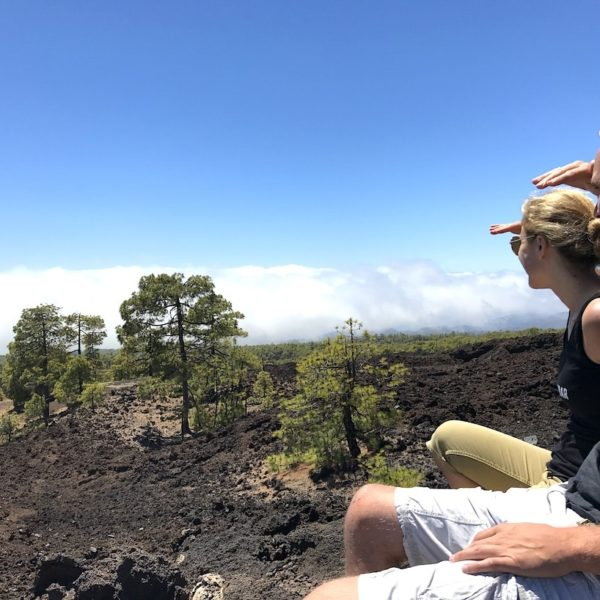 Teide Nationalpark Wolkendecke Pinar Chio