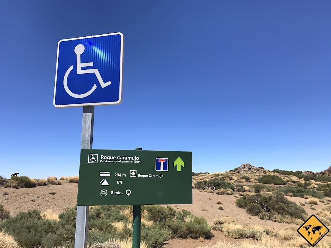 Teide Nationalpark behindertengerecht