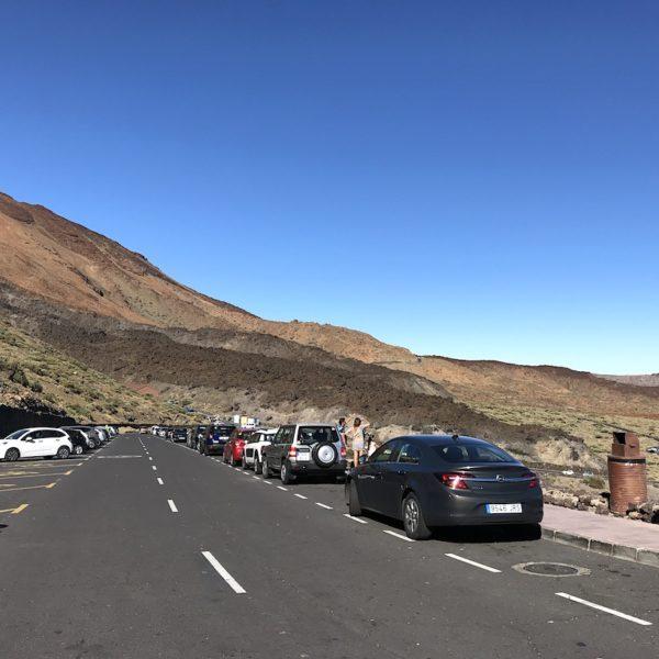 Teide Seilbahn Parken