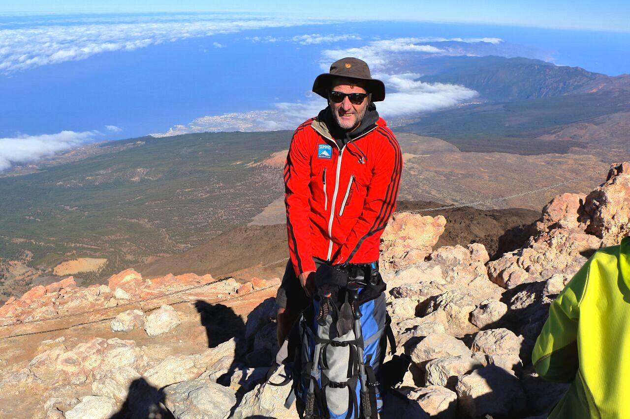 Teide Wanderung Gipfel Aussicht