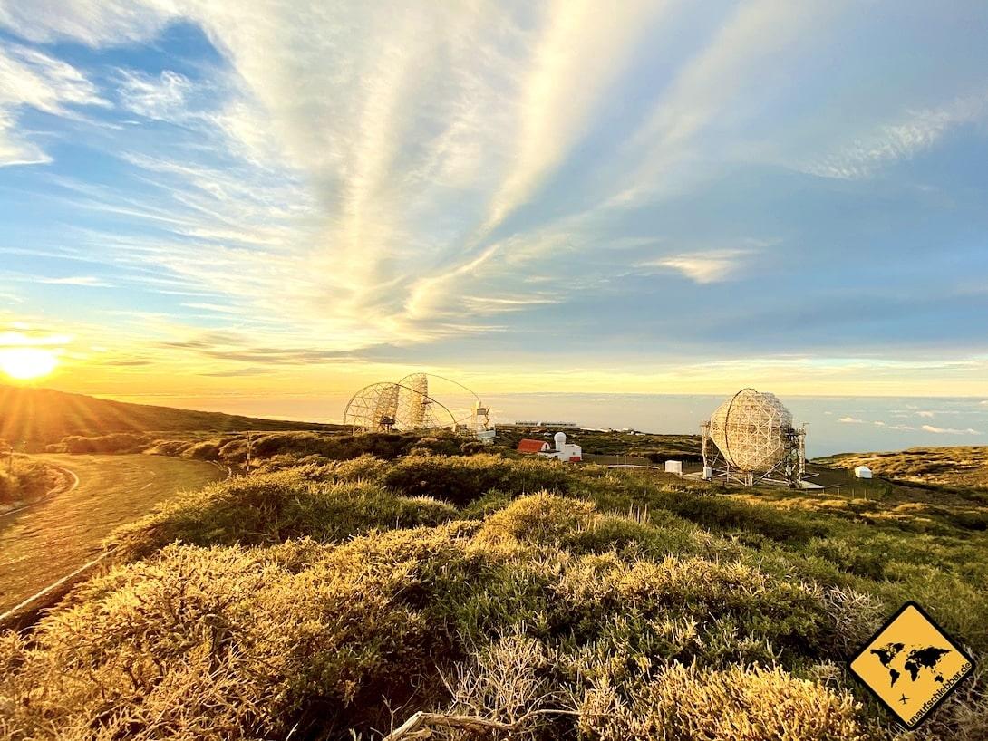 Teleskope La Palma Observatorio Roque de los Muchachos