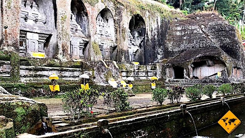 Tempel auf Bali Gunung Kawi