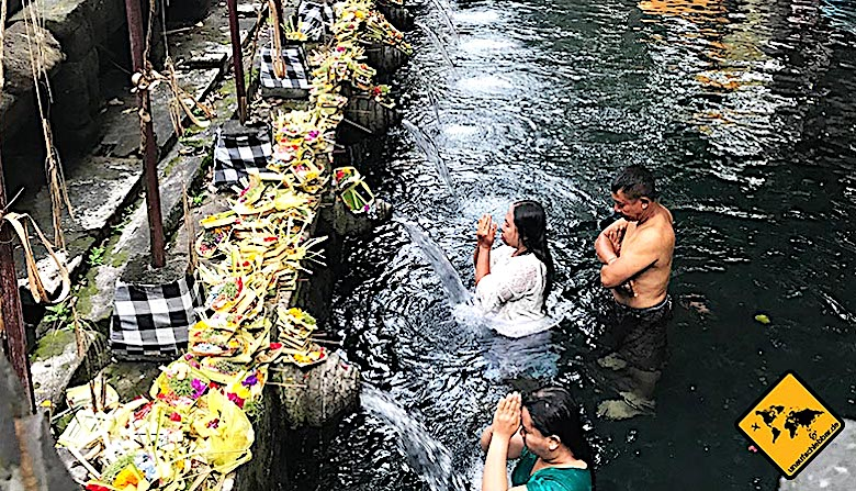 Tempel auf Bali Pura Tirta Empul