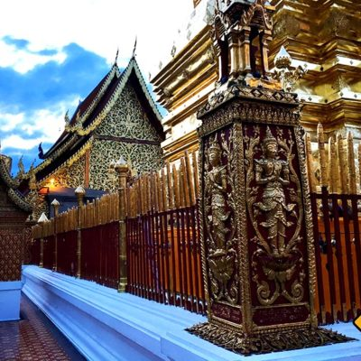 Tempel in Chiang Mai Doi Suthep