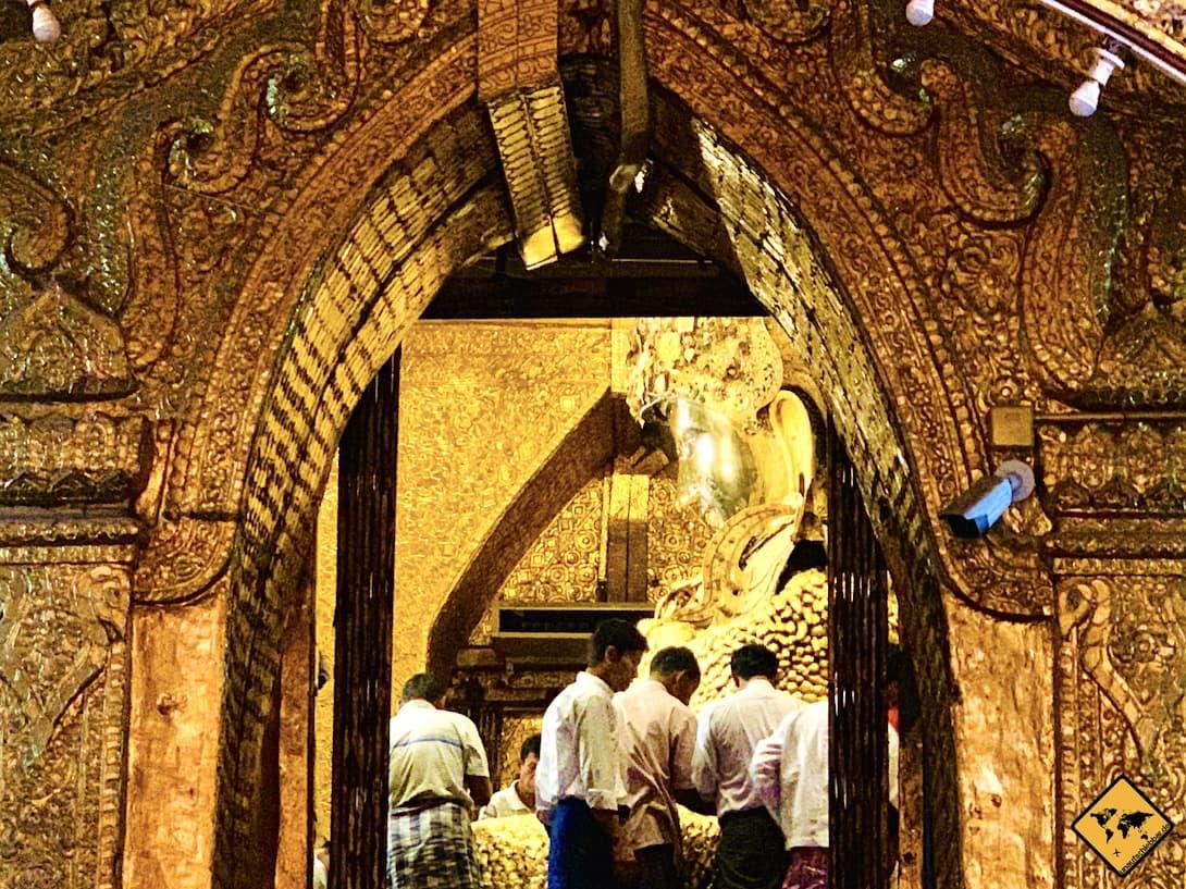 Tempel in Myanmar Mahamuni Pagode Mandalay