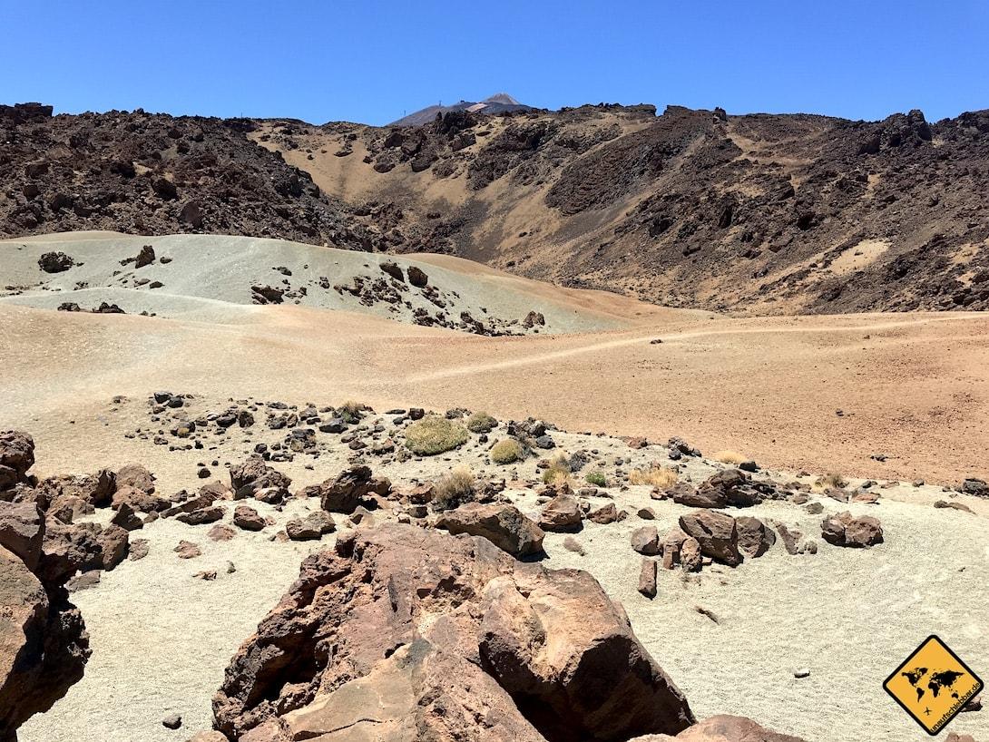 Temperatur Teneriffa Teide