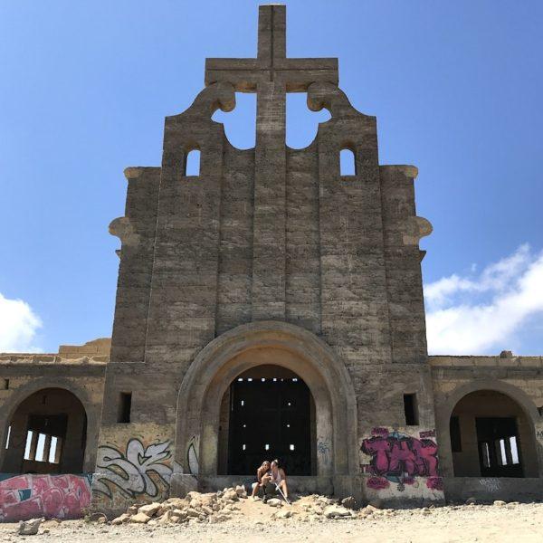 Teneriffa Abades Geisterstadt Kirche