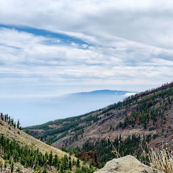 Teneriffa Ausblick La Gomera