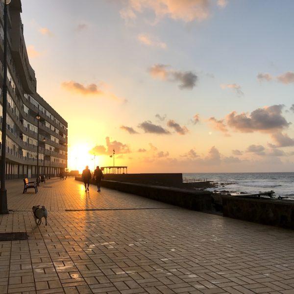 Teneriffa Bajamar Sonnenuntergang