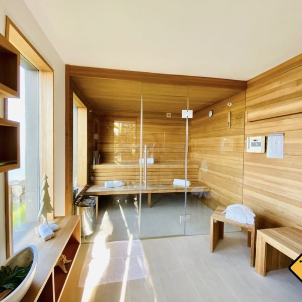 Teneriffa Geheimtipps Jardin de la Paz Sauna