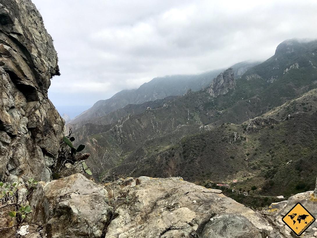 Teneriffa Klima Anaga Gebirge