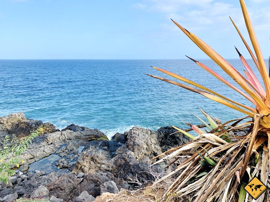 Teneriffa Küste der Stille