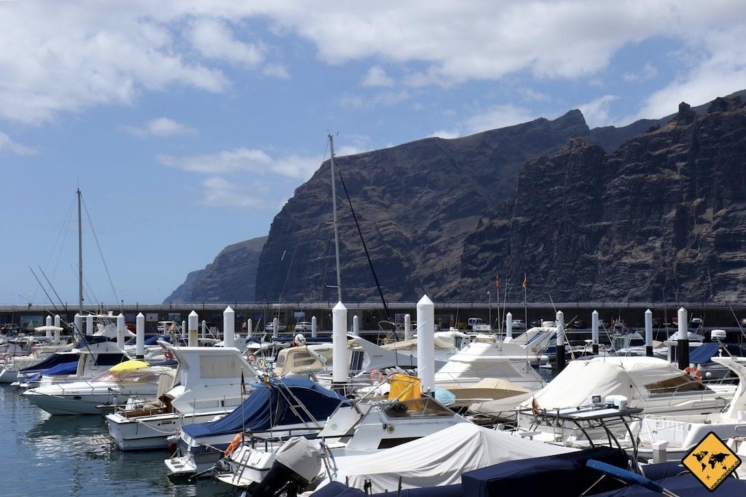 Der Jachthafen von Los Gigantes