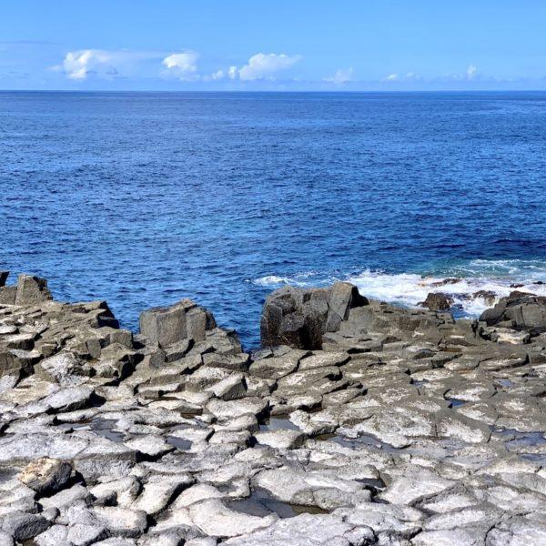 Teneriffa Los Silos Basaltsäulen