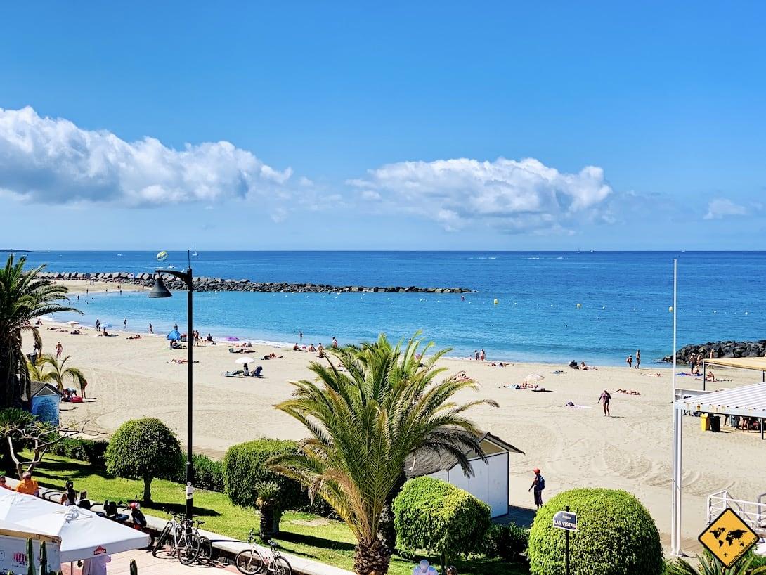 Teneriffa Playa de Las Vistas