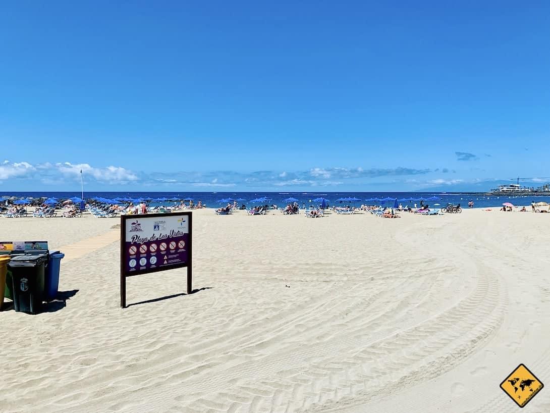 Teneriffa Playa de las Vistas für Familien