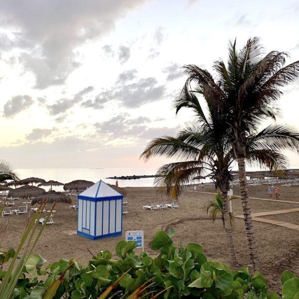 Teneriffa Playa del Duque Strand