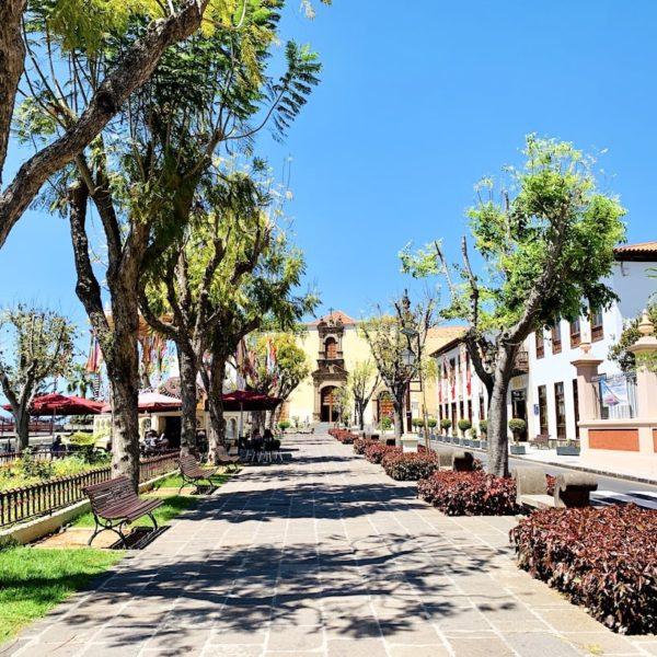 Teneriffa Plaza de la Constitución La Orotava