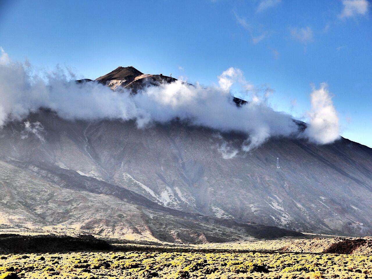 Teneriffa Teide Wanderung Wolken