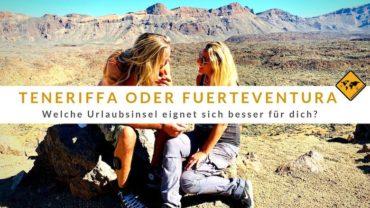 Teneriffa oder Fuerteventura – Welche Urlaubsinsel eignet sich besser für dich?
