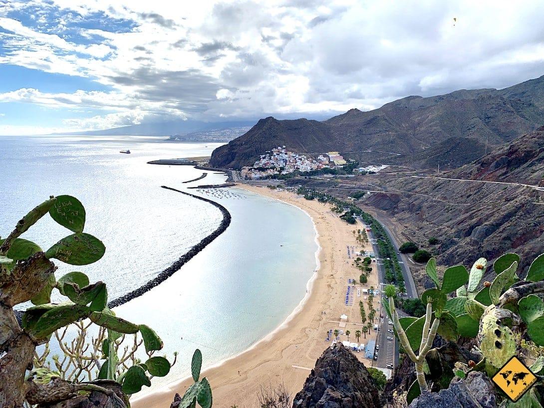 Teneriffa oder Fuerteventura Playa de las Teresitas Kanaren