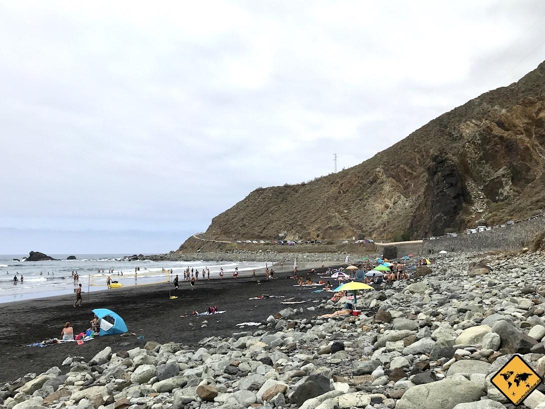 Teneriffa surfen Playa Almaciga