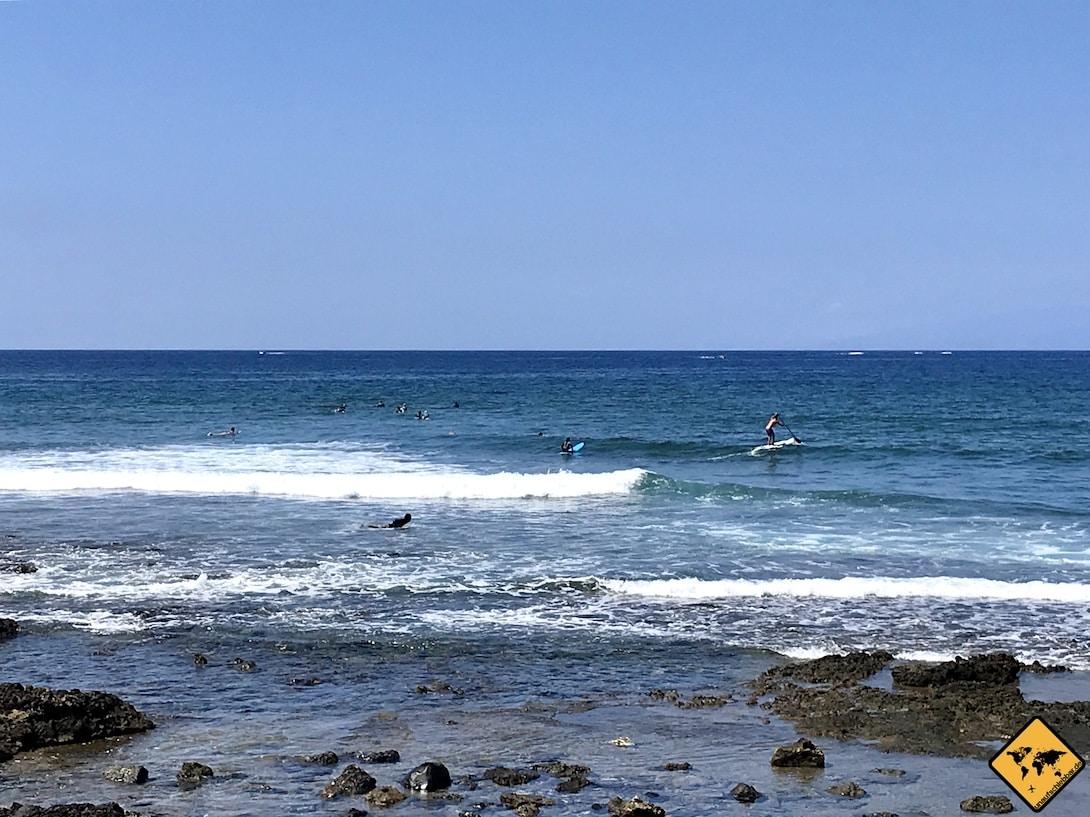 Teneriffa surfen Playa de las Américas