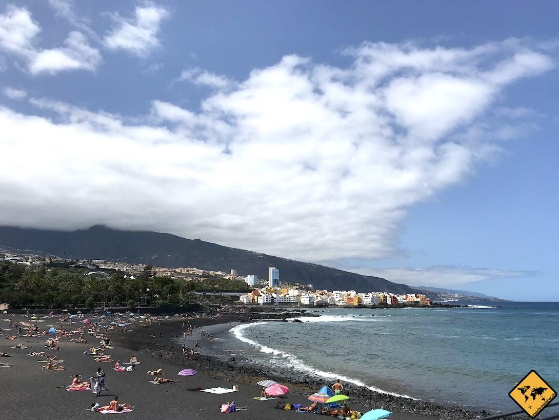 Teneriffa surfen Puerto de la Cruz