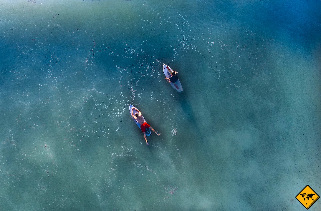 Teneriffa surfen Punta del Hidalgo