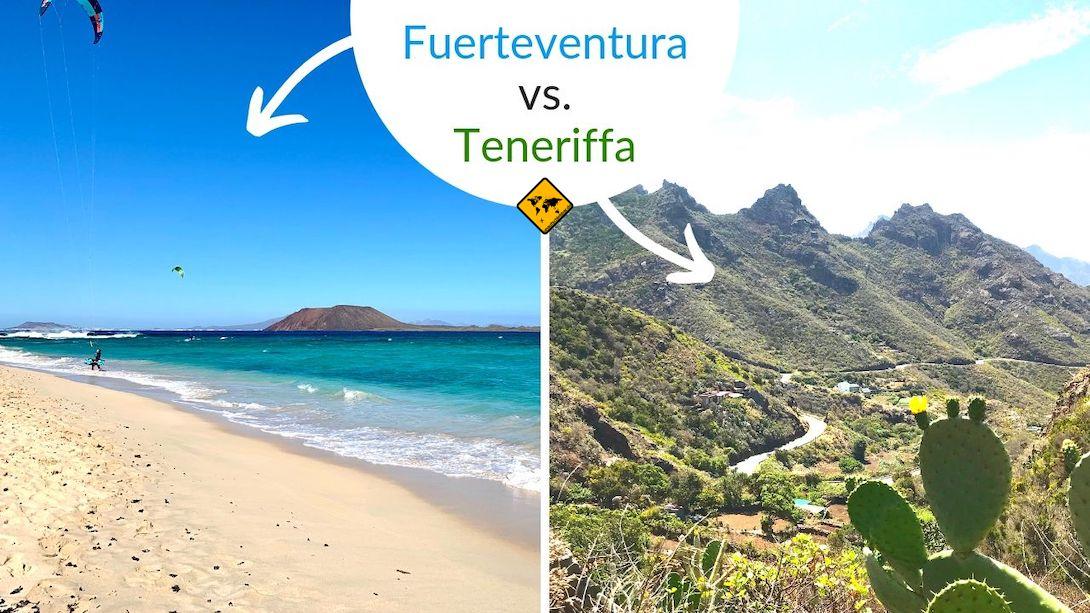 Teneriffa vs Fuerteventura