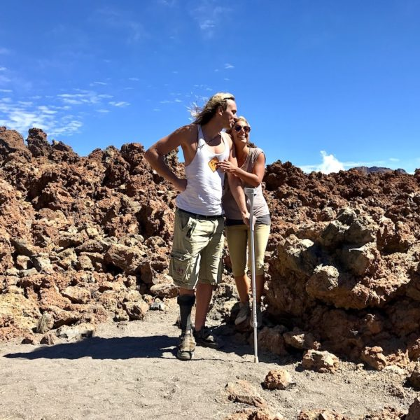 Teneriffa wandern Lavafelder Teide Nationalpark