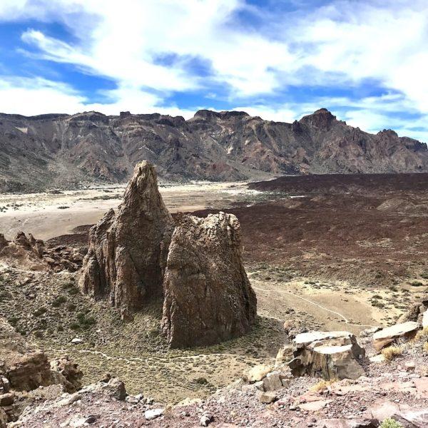 Teneriffa wandern Roques de García Lavafelsen