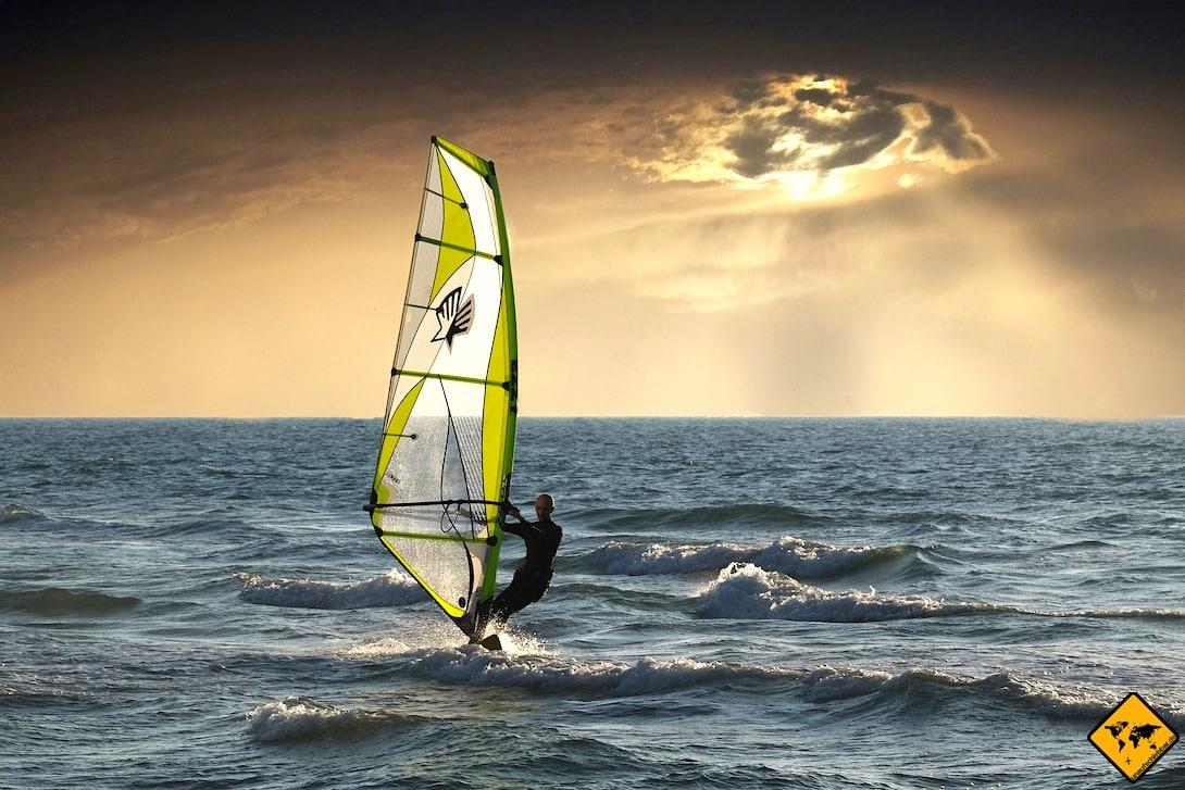 Teneriffa windsurfen El Médano