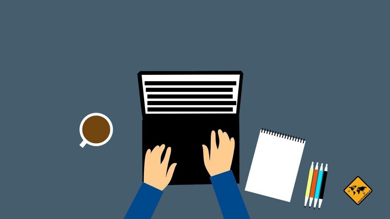 Texter schreiben Online Geld verdienen