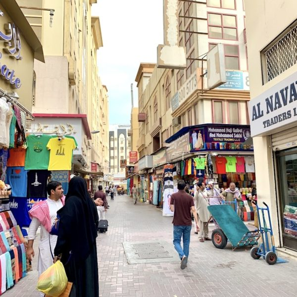 Textil Händler Dubai Passage